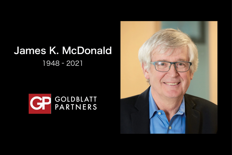 LINEE Mourns the Loss of James McDonald